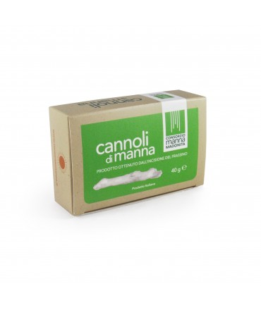 Manna naturelle sous forme de cannoli 20 g